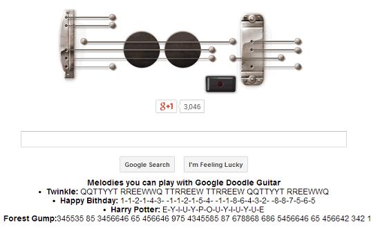 Google Guitar検索