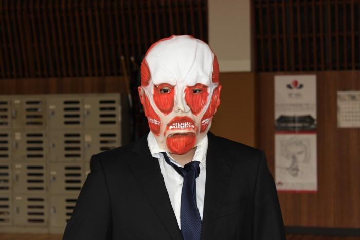 進撃の巨人マスク そのクオリティーはいかほどか!!