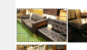 GIMPの境界線のぼかしを使って、写真(画像)の周りをモヤモヤにする方法