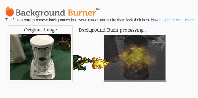 「Background burner」ドラゴンが火を吹き始めた