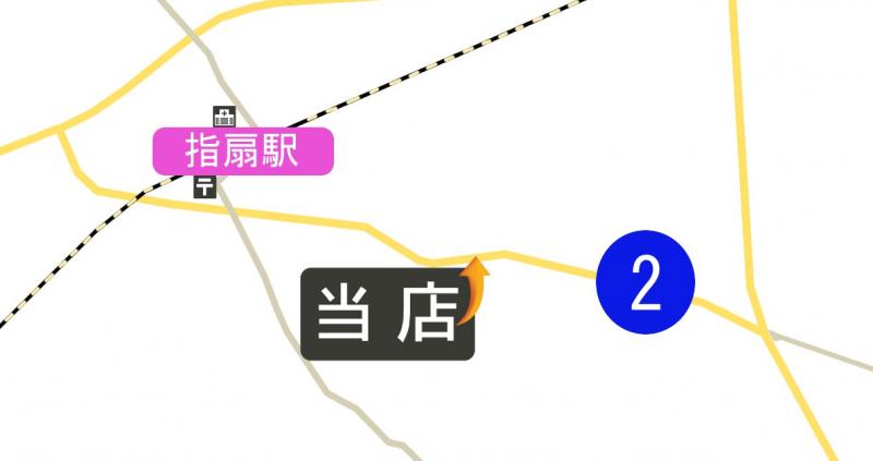 GIMPを使って作成した無料の地図