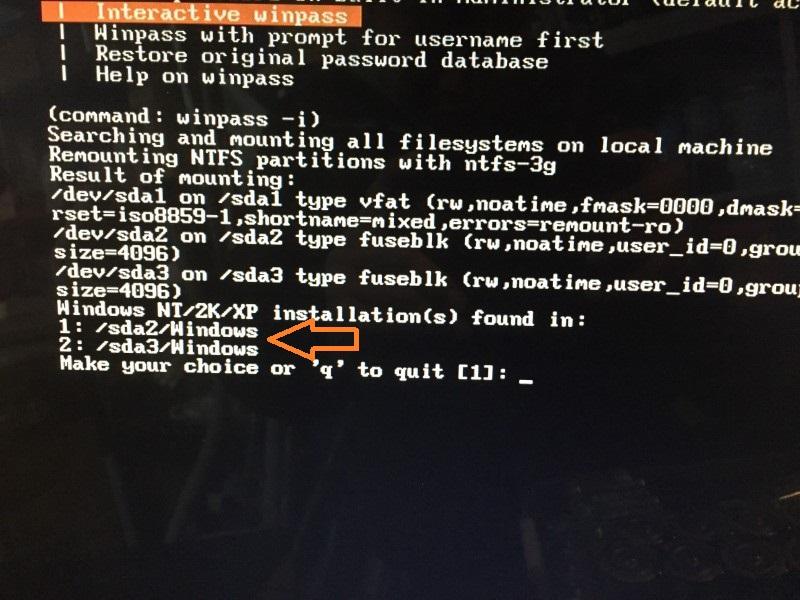無料で簡単!!windows (vista,7)のパスワードをリセット、解析する方法