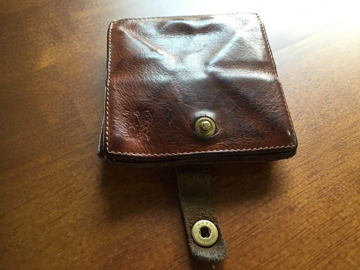 【メンズ イルビゾンテ 二つ折り財布】 オススメポイントや、使用した感想