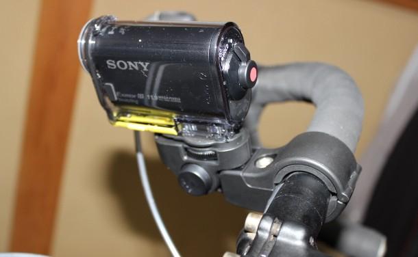 【ソニーアクションカム HDR-AS30V レビュー】ロードバイクに装着してみた!