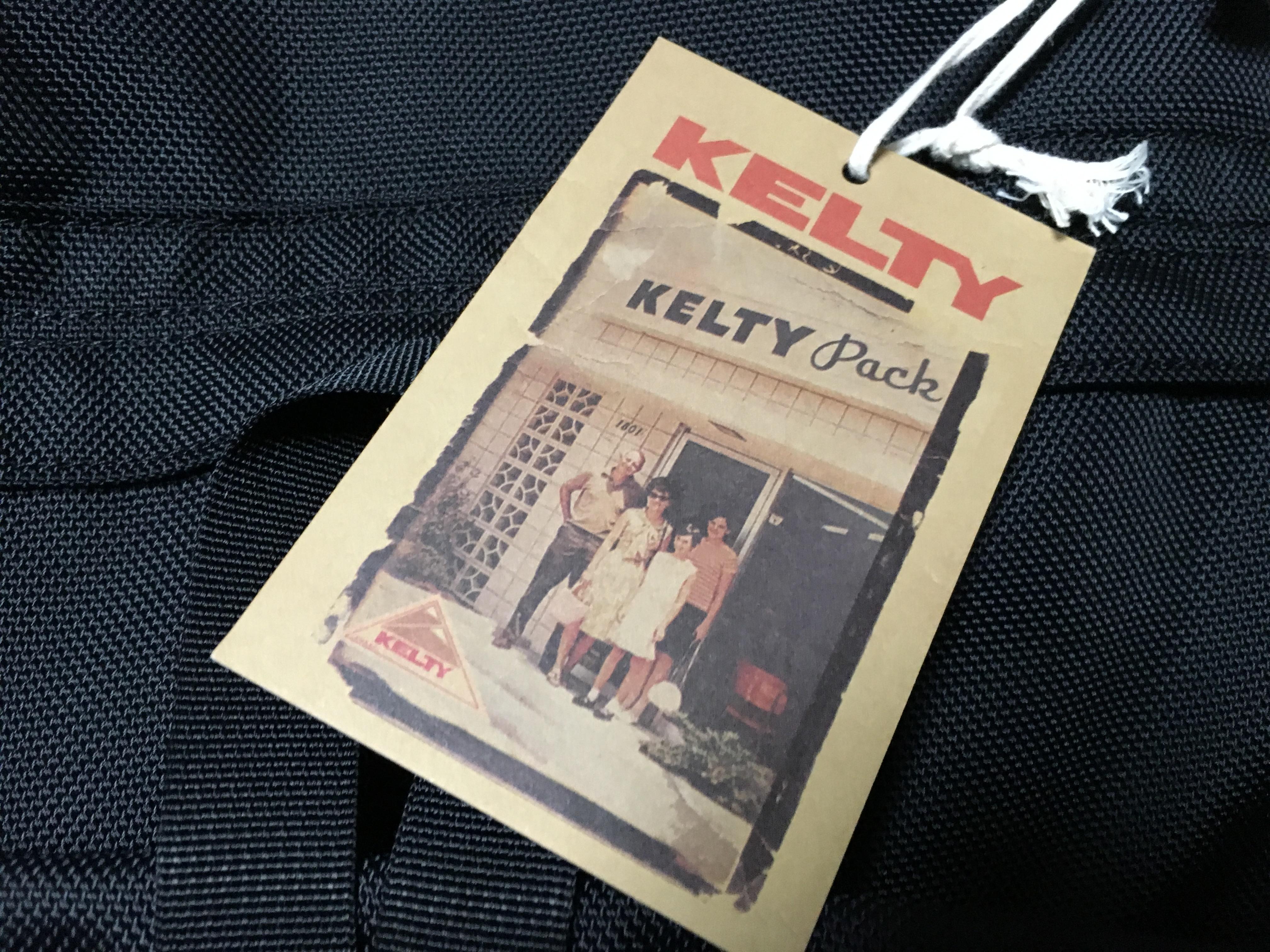 ケルティー(KELTY)ナイロンリュック レビュー!オールブラックを購入