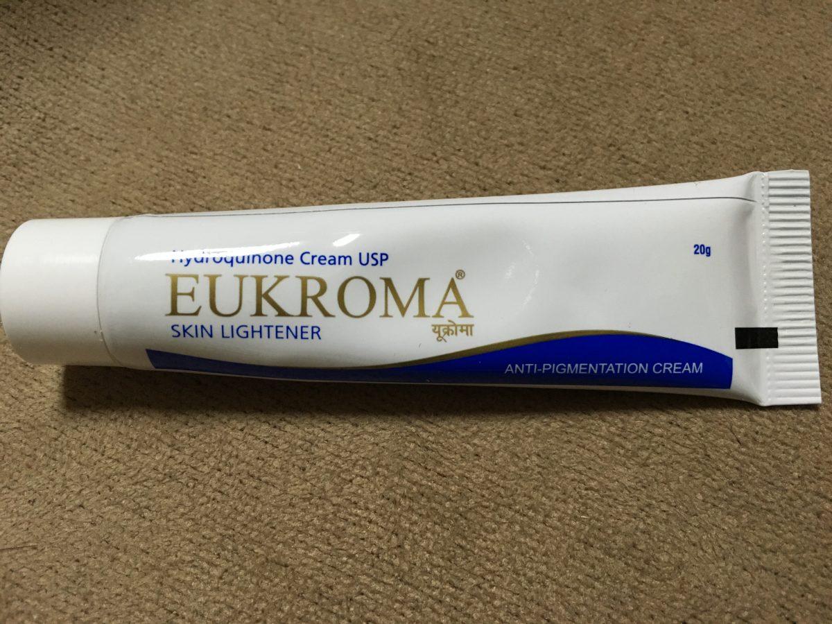 ユークロマクリーム(EUKROMA)は本当にシミが消えるのか、実際に使ってみた