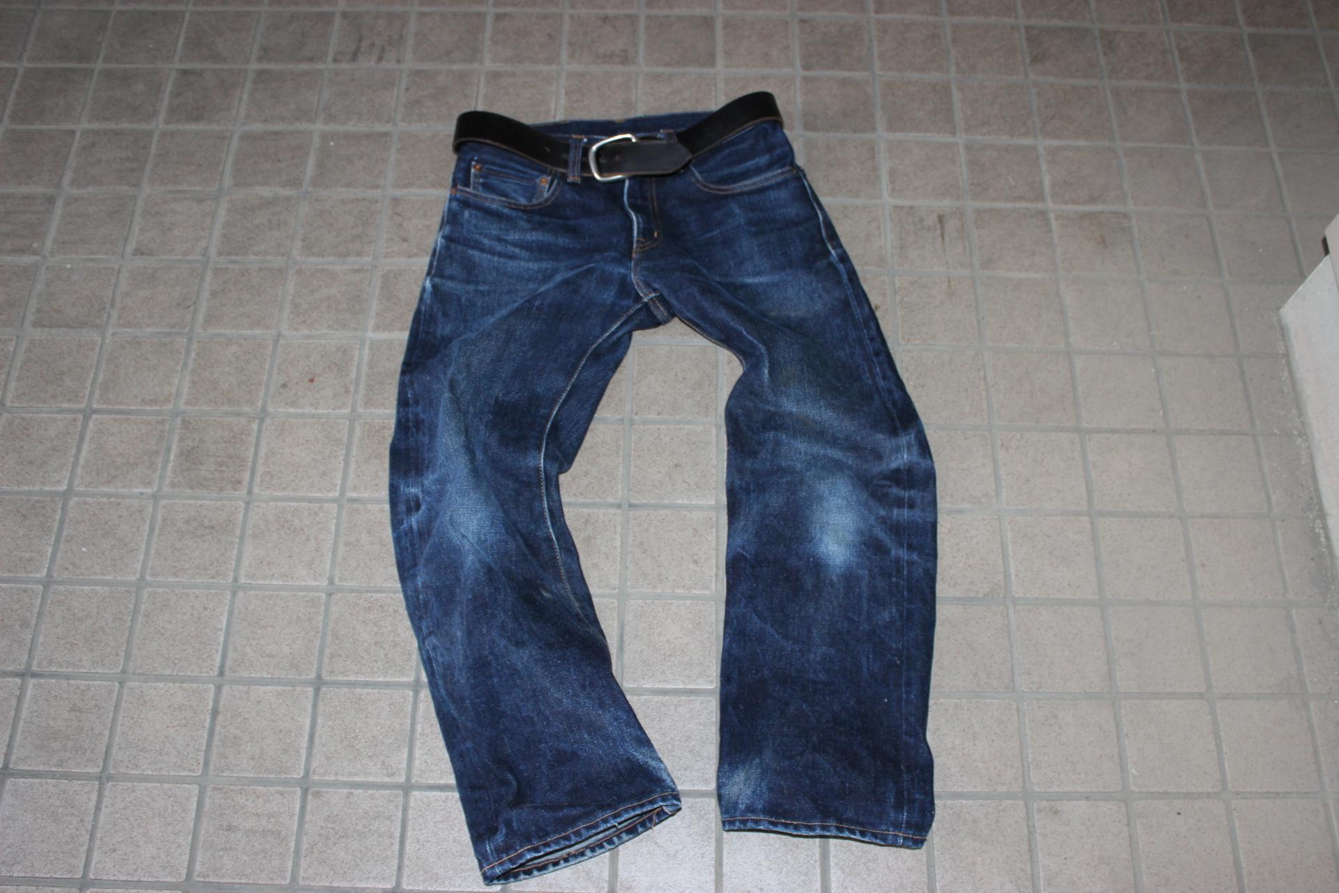 【おすすめのジーンズ】岡山 児島ジーンズ 23オンス(RNB-108)の色落ち
