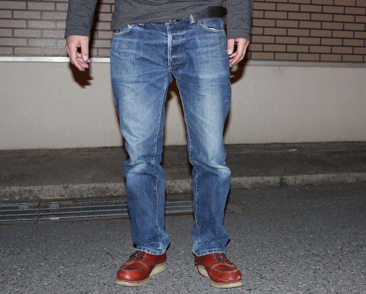【おすすめのデニム】スカルジーンズ5010xxの色落ちレポート レビュー