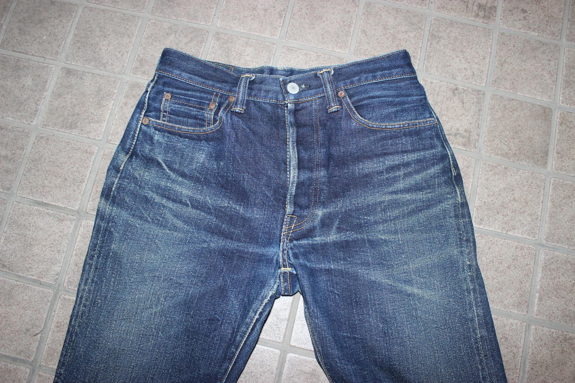 【おすすめのジーンズ】エターナル 811 の色落ち 評判・レビュー、シルエットは?