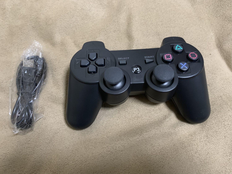 【PS3 コントローラー 代用】安い互換性コントローラーのレビュー!