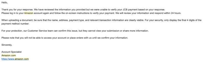 アメリカのAmazonでカードが使えない。支払いができない場合の対処方法【海外アマゾン】